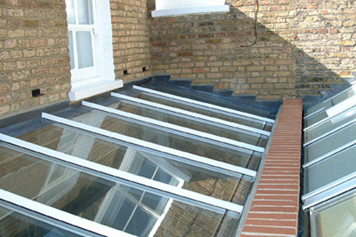 Residential Glass Roof